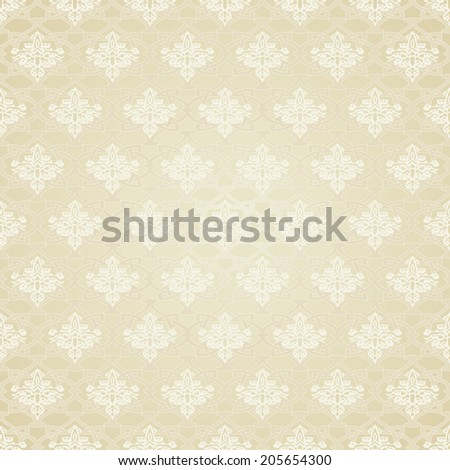 Seamless Pattern in Traditional Ottoman Motifs.Decorative Background in Mosaic Ethnic Style.Vector illustration - stock vector