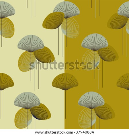 seamless patterns in 1 Eps file. - stock vector
