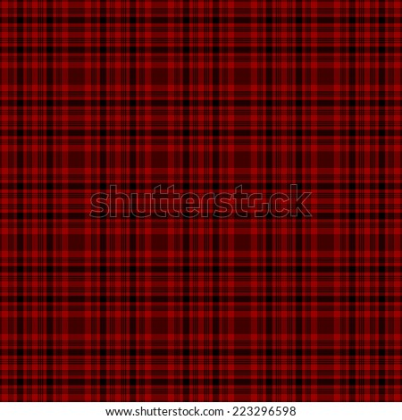 Seamless Tartan Plaid - stock vector