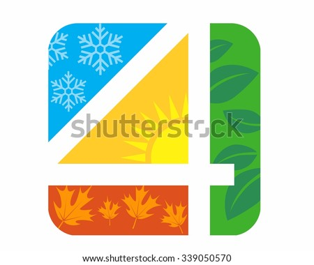 4 seasons stock images royaltyfree images amp vectors