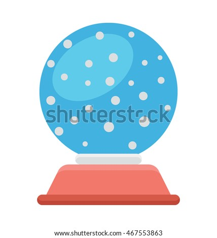 Snow Globe Vector Icon