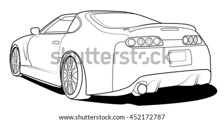 Car Drawing Images Stock Photos amp Vectors  Shutterstock