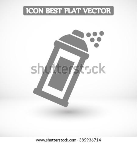 spray  vector icon - stock vector