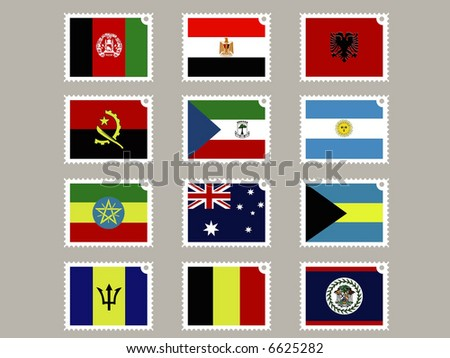 12 stamp flags02