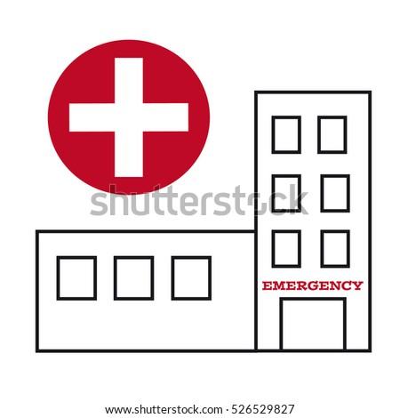 Hospital Symbol Stock ...