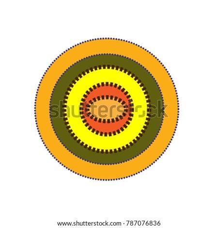 Symbol Mother Earth Stock Vector 787076836 Shutterstock