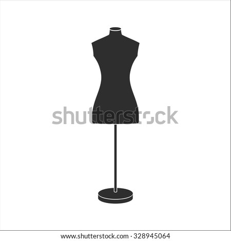 Tailor's mannequin for female body