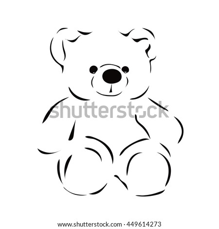 Teddy Bear Drawing Stock Images, Royalty-Free Images & Vectors ...