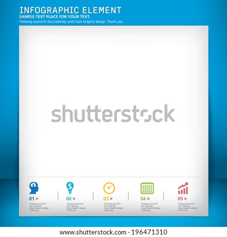 template modern design, vector, template, info-grapgic