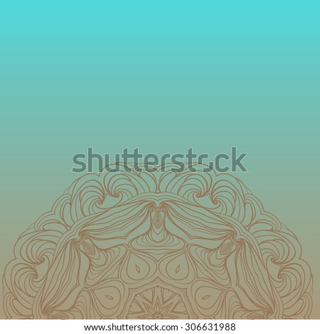 texture background sketch pattern, Ornamental floral pattern with place for your text,