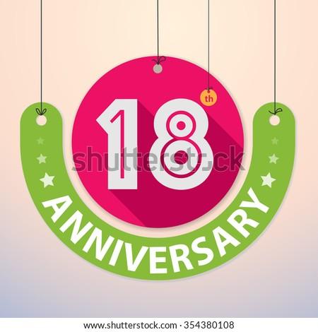 18th anniversary symbol