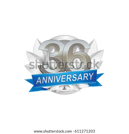 36th anniversary stock images royalty free images vectors shutterstock - Th anniversary symbol ...