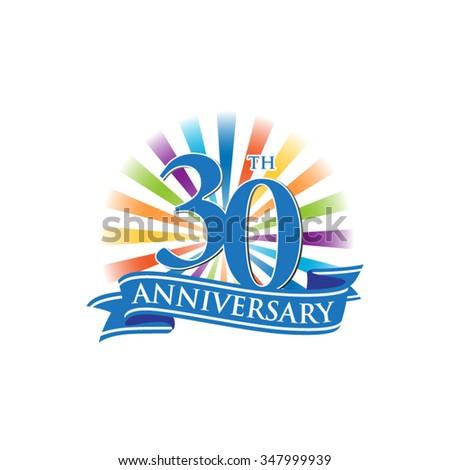 30th Anniversary Ribbon Clip Art World Wide Clip Art Website