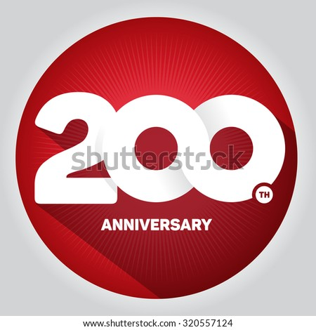 200th anniversary stock photos images pictures shutterstock - Th anniversary symbol ...