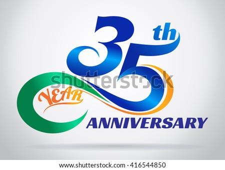 35th Anniversary Party Clip Art World Wide Clip Art Website