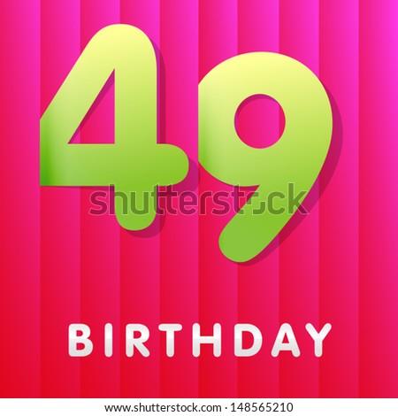 Прикольные поздравления с днем рождения 49 лет
