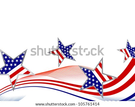 4th july independence day - vector