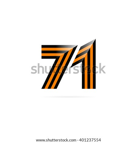 9th may holiday poster. Victory day. 71 Anniversary of Victory in Great Patriotic War. Vector illustration