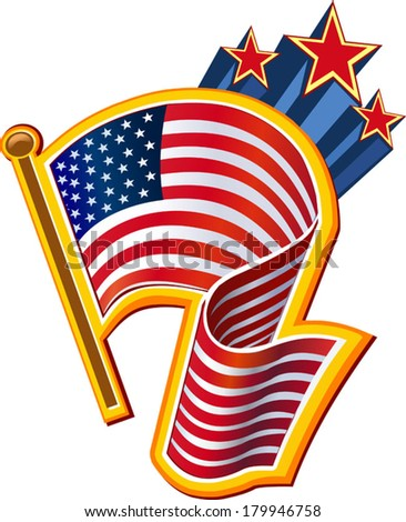 4th of July independence day  - stock vector