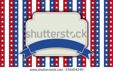 4th of July independence day background, July 4th, Memorial Day, Independence day, Easy to edit. Perfect for invitations or announcements.