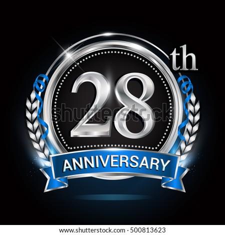 28th Wedding Anniversary Symbol