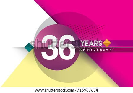Years birthday design greeting cards stock photo photo vector