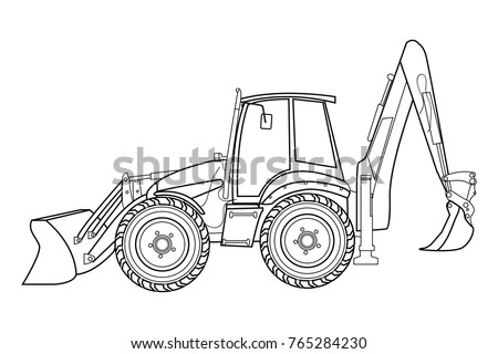 Tractor Sketch Stock Images Royalty Free Images Amp Vectors