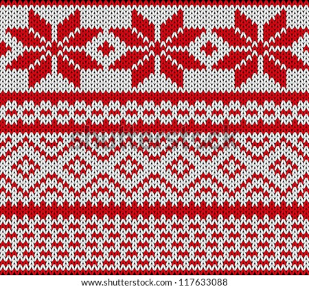 Scandinavian Knitting Patterns : Nordic Pattern Stock Photos, Images, & Pictures Shutterstock