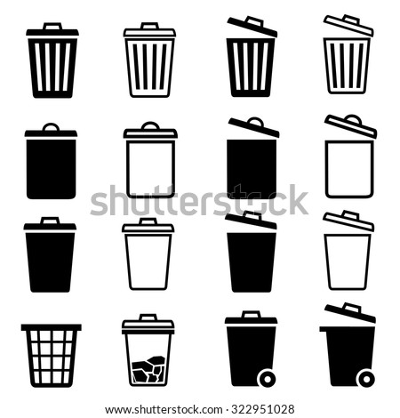 rubbish icon stock images royaltyfree images amp vectors