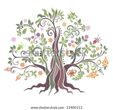 Tree. - stock vector