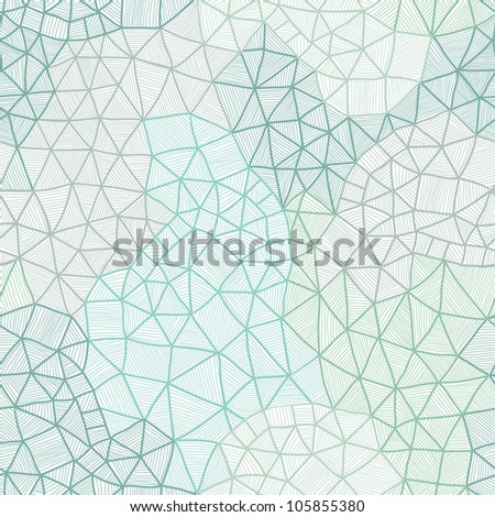 Vector abstract background - Cool cell structure, Constellation seamless pattern. Endless texture with stars, galaxy. Can be used for wallpaper, pattern fills, web page background, surface textures. - stock vector