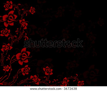 -vector-floral background