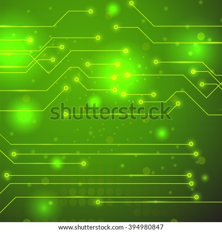 Vector High Tech Printed Circuit Board