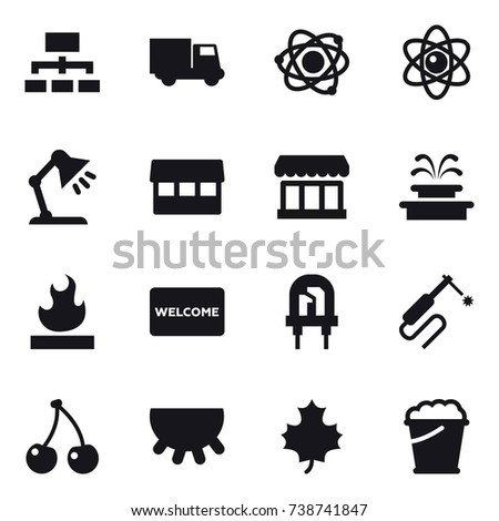 Table mat isolated stock vectors images vector art shutterstock 16 vector icon set hierarchy truck atom table lamp market ccuart Choice Image