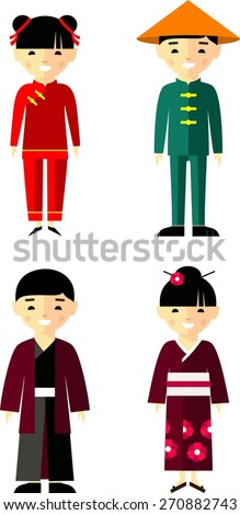 Image Gallery japanese people clip art