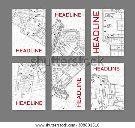 Vector illustration technical blueprint mechanism business stock vector illustration with technical blueprint of mechanism business template for flyer banner poster malvernweather Gallery