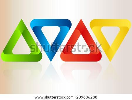 Vector logo  - stock vector