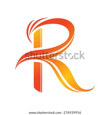 Vector logo r letter stock vector 276939956 shutterstock vector logo r letter altavistaventures Gallery