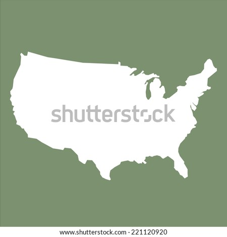 Usa Map Stock Images RoyaltyFree Images Vectors Shutterstock - Map united states black and white