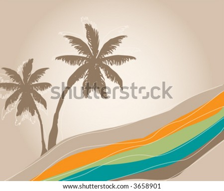 -vector-palm