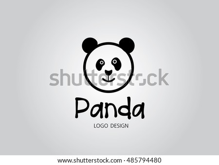 Panda Logo Stock Images, Royalty-Free Images & Vectors | Shutterstock