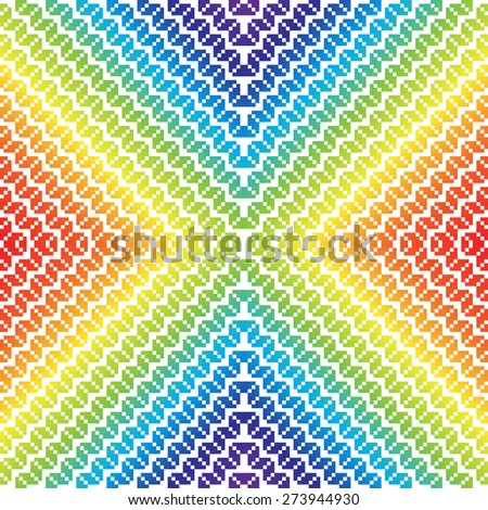 Vector seamless pattern, geometric background