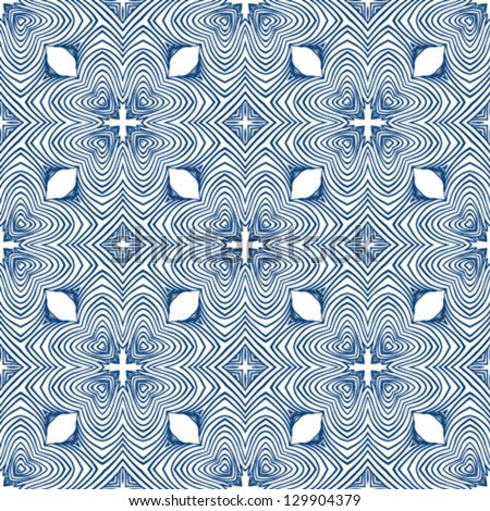 Vector seamless pattern floral blueprint motifs stock vector vector seamless pattern with floral blueprint motifs and thin lines 50s and 60s wallpapers design malvernweather Image collections