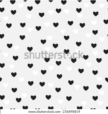 vector valentines day  seamless pattern  - Illustration - stock vector