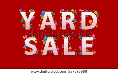 Yard Sale Stock Images Royalty Free Images Amp Vectors