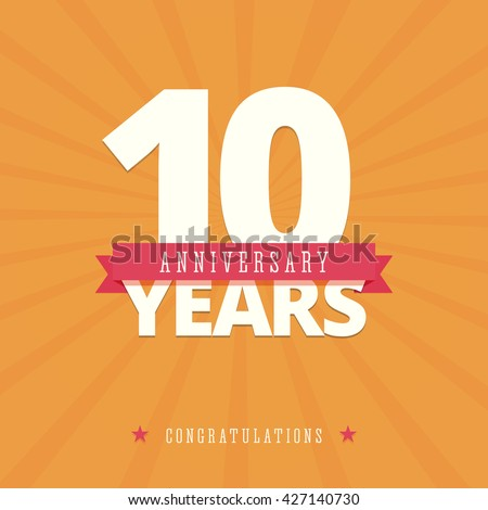 Anniversary Card Stock Images RoyaltyFree Images  Vectors