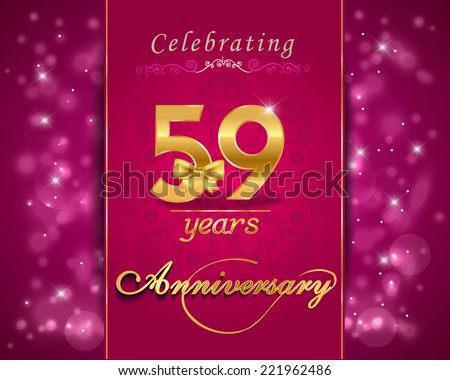 59th wedding anniversary cards