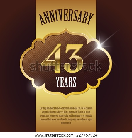 43rd anniversary Stock Photos, Images, & Pictures ...