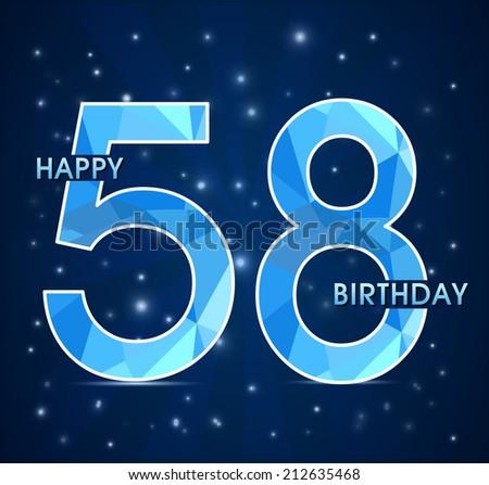 С днем рождения поздравления с 58 летием