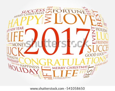 2017 year greeting word cloud collage stock vector 541058650 2017 year greeting word cloud collage happy new year celebration greeting card m4hsunfo Image collections